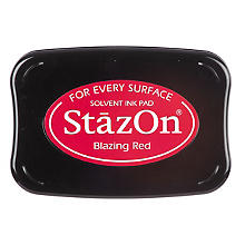 StazOn Tampon encreur, rouge