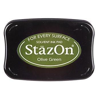 StazOn Stempelkissen, olivgrün