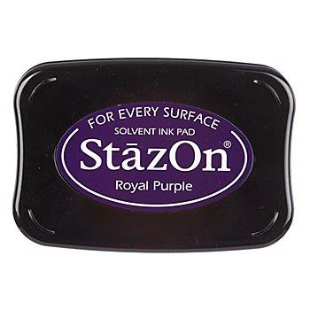 StazOn Tampon encreur, violet