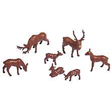 Mini-cerfs, 1,5 - 3 cm, 7 pièces