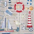 "Papierserviette ""Strand"", 33 x 33 cm, 20 Stück"