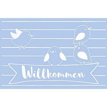 buttinette Schablone 'Willkommen', 59 x 39 cm
