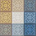 """Serviettes en papier """"mosaïque"""", 33 x 33 cm, 20 pièces"""