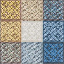 Serviettes en papier 'mosaïque', 33 x 33 cm, 20 pièces