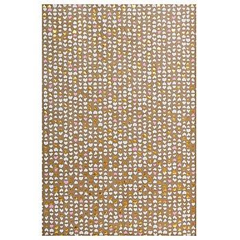 Papier Décopatch avec dorure à chaud 'cœurs', 40 x 60 cm