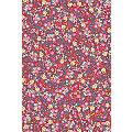 "Décopatch-Papier ""Blumen"", rot-blau-gelb, 39 x 30 cm, 3 Blatt"