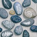 """Serviettes en papier """"pierres"""", 33 x 33 cm, 20 pièces"""