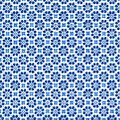 """Serviettes en papier """"fleurs bleues"""", 33 x 33 cm, 20 pièces"""