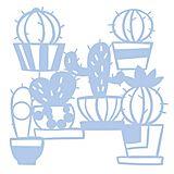 """Maskier-Schablone """"Kaktus"""", 28,5 x 29 cm"""