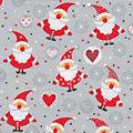 """Papierserviette """"Weihnachtsmänner"""", 33 x 33 cm, 20 Stück"""