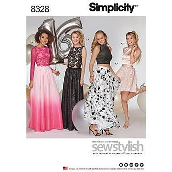 Simplicity Patron 7969 'robe deux pièces'