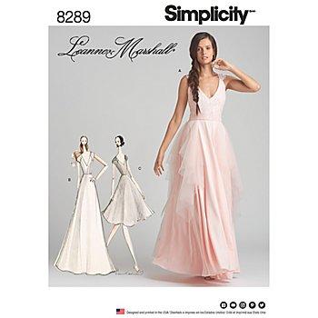 Simplicity Schnitt 8289 'Abendkleid oder Brautkleid'