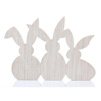 Hasen aus Holz, 38 x 26,5 cm