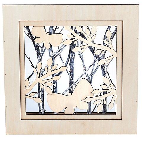 """Image of 3D-Motivrahmen """"Frühling"""", 25 x 25 x 5 cm"""