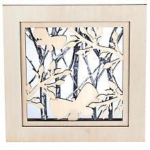 3D-Motivrahmen 'Frühling', 25 x 25 x 5 cm