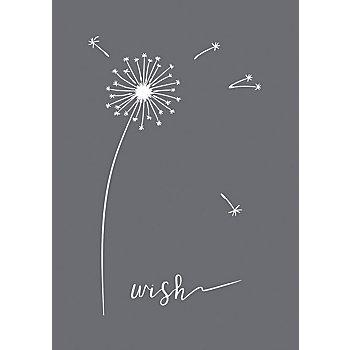 Rayher Siebdruck-Schablone 'Wish'