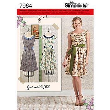Simplicity Patron 7964 'robe vintage'