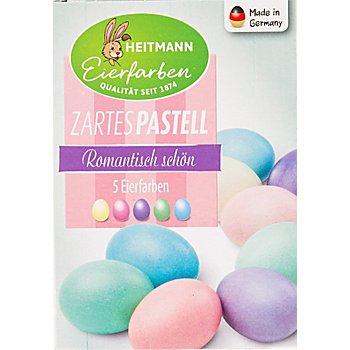 Flüssige Eier-Kaltfarben, 5 Farben - zartes Pastell