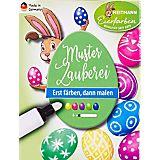 Eier-Farben-Set mit Zauberstift, 5 Farben
