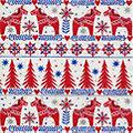 """Serviettes en papier """"chevaux Noël"""", 33 x 33 cm, 20 pièces"""