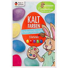 Eier-Kaltfarben, 5 Farben - Standard