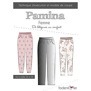 Fadenkäfer Patron 'Pantalon Pamina' pour femmes