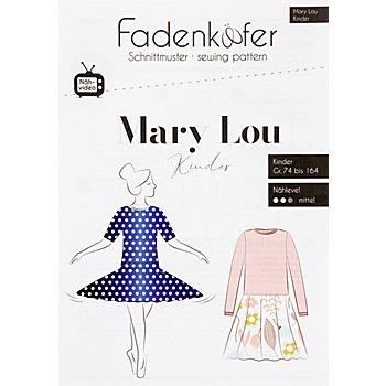 Fadenkäfer Schnitt 'Kleid Mary Lou' für Kinder
