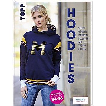 Buch 'Hoodies – selbst genähte Kapuzen-Pullover mit Trendy Extras'