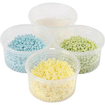 Pearl Clay® Modelliermasse-Set, hellblau, hellgelb, hellgrün