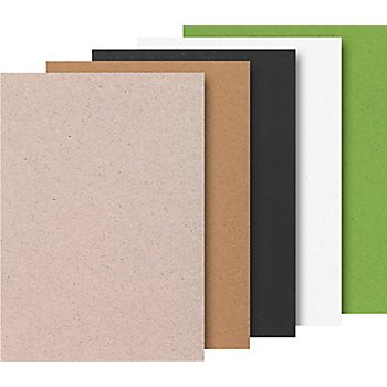 Heyda Naturkarton-Block, 21 x 29,7 cm, 20 Blatt