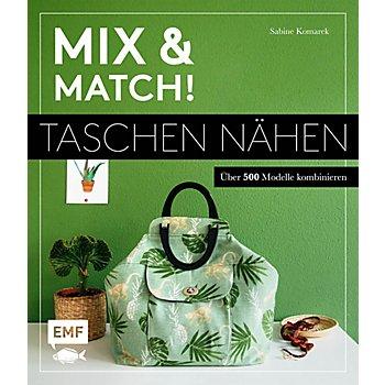 Buch 'Mix & Match! Taschen nähen – über 500 Modelle kombinieren'