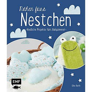 Buch 'Nähen fürs Nestchen – niedliche Projekte fürs Babyzimmer'