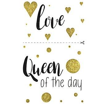 Deko-Abziehmotive 'Queen + love', 2 Bogen