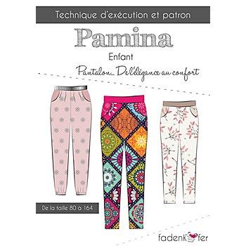Fadenkäfer Patron 'Pantalon Pamina' pour enfants