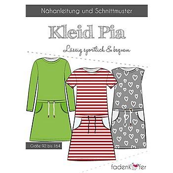Fadenkäfer Schnitt 'Kleid Pia' für Kinder