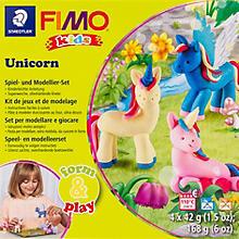 Fimo kids form & play - Kit créatif 'licorne'