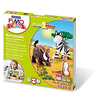 Fimo kids form & play Savanne