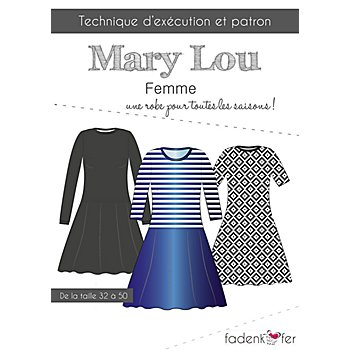 Fadenkäfer Patron 'Robe Mary Lou' pour femmes
