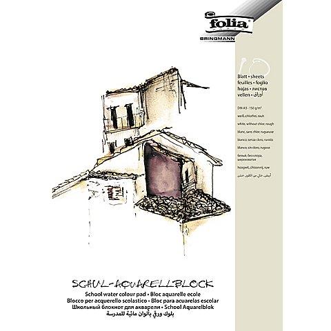 Image of Folia Schul-Aquarellblock DIN A3