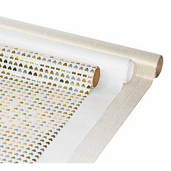 Geschenkpapier-Set 'Gold-Weiss'