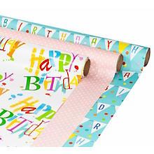 Set de papier cadeaux 'anniversaire'