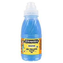Cléopâtre Gel pailleté, bleu