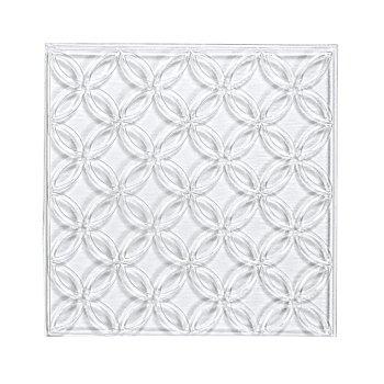 Rayher Plaque de coulée en relief 'cercles de fleurs'