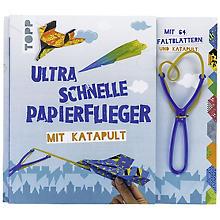 Bastelpackung 'Ultra schnelle Papierflieger mit Katapult'