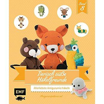Buch 'Tierisch süße Häkelfreunde – Band 8'