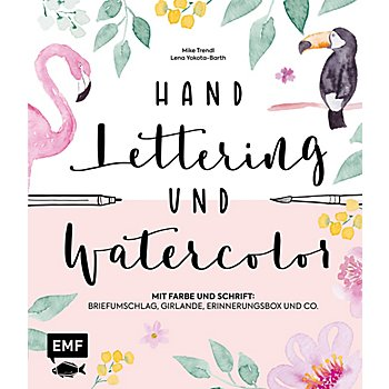 Buch 'Handlettering und Watercolor'