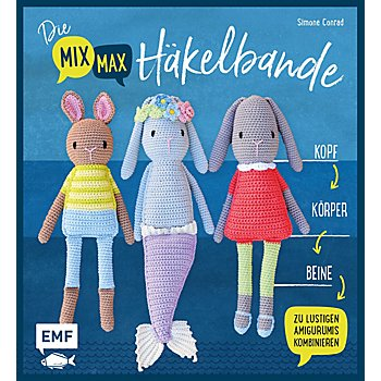 Buch 'Die Mix-Max-Häkelbande'