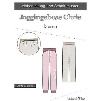 Fadenkäfer Schnitt 'Jogginghose Chris' für Damen
