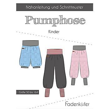 Fadenkäfer Schnitt 'Pumphose' für Kinder
