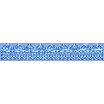 Tapis en silicone 'dentelle'